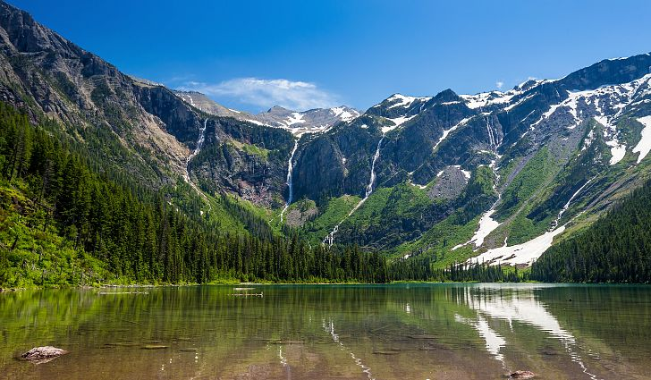 Avalanche Lake Rejuvenating Destinations