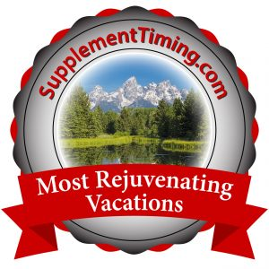 Supplement Timing - Most Rejuvenating Vacations